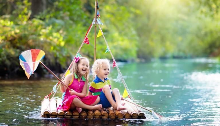 Abenteuerurlaub - Kindern