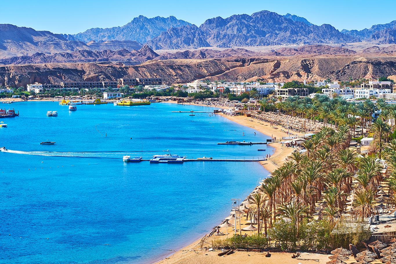 Aegypten-Sharm-el-Sheikh-–-Strand