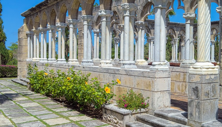 Bahamas-Versailles-Gardens-French-Cloister-auf-Paradise-Island