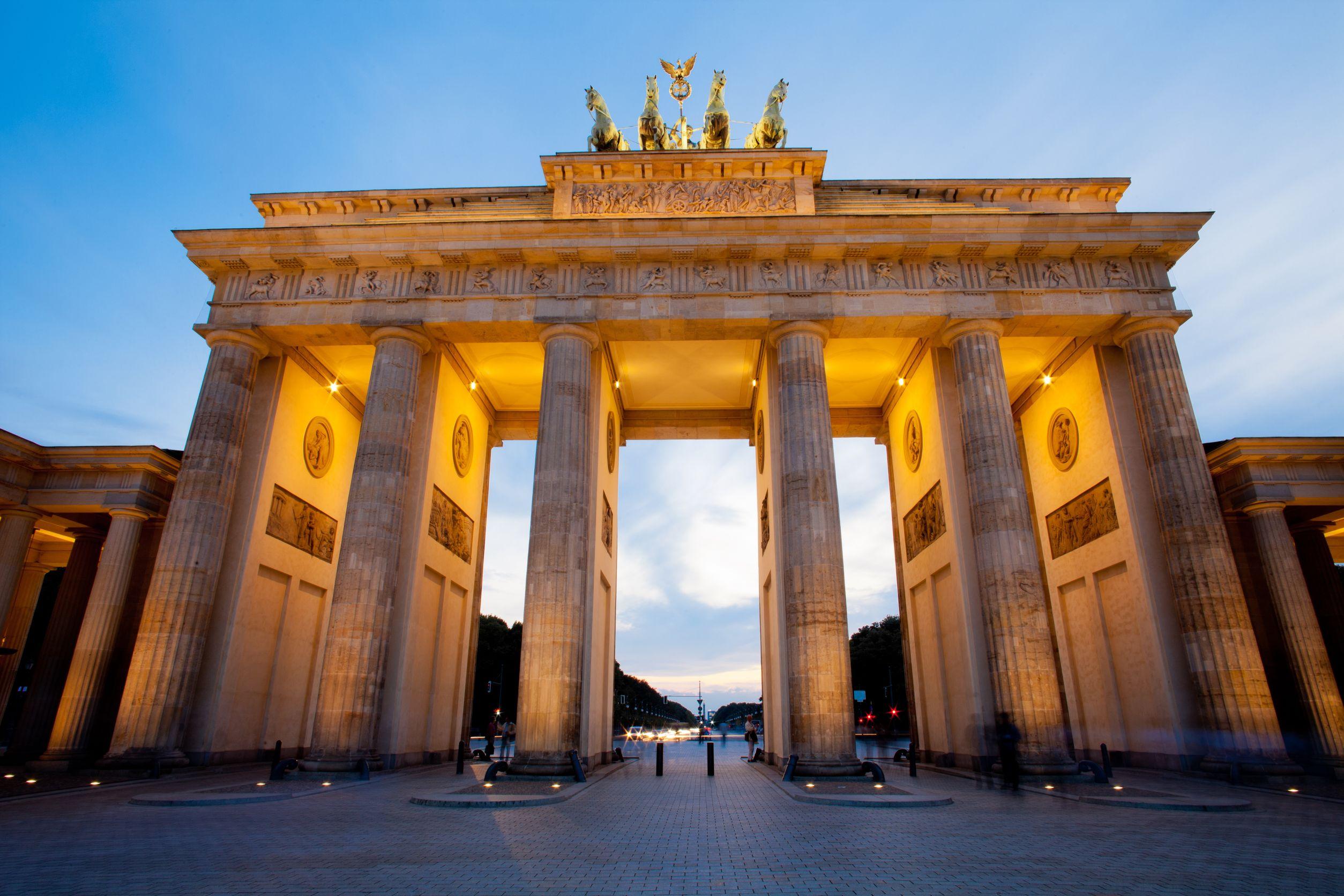 Brandenburger Tor Heute Gesperrt