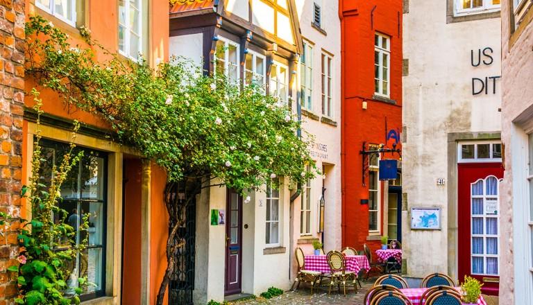 Bremen-Schnoor-Altstadt-