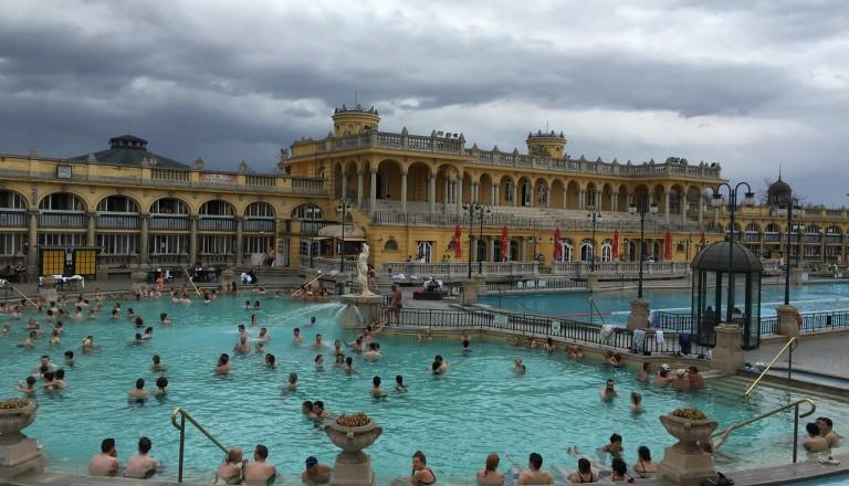 Budapest - Széchenyi Thermalbad