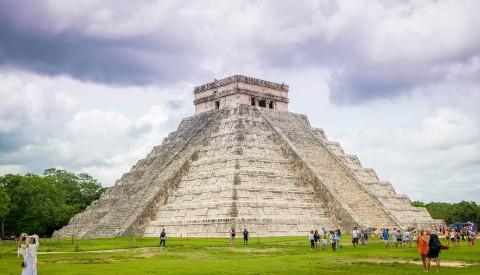 Cancun - Pyramide von Kukulkán