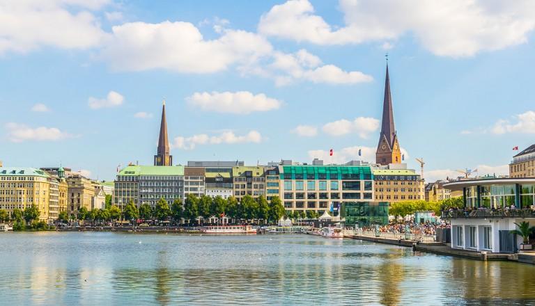 Hamburg- Höchster Aussichtspunkt