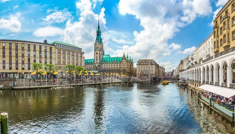 Uralaub in Hamburg