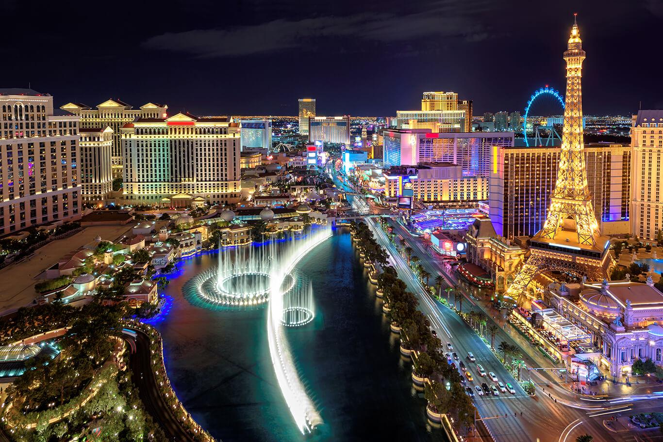Stadtereise Las Vegas Gunstig Beim Testsieger Buchen