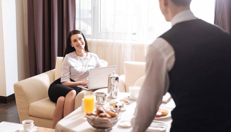 Luxushotel - Gastfreundschaft