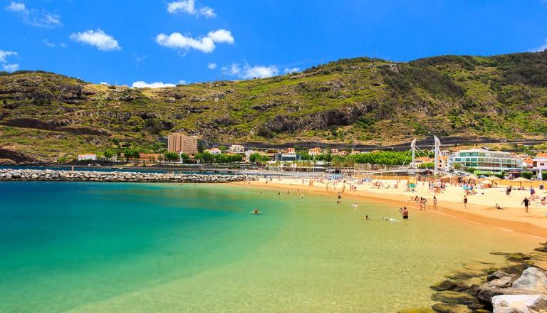 Machico bay, Madeira