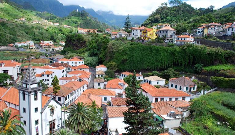 Madeira - Sao Vicente à Madère