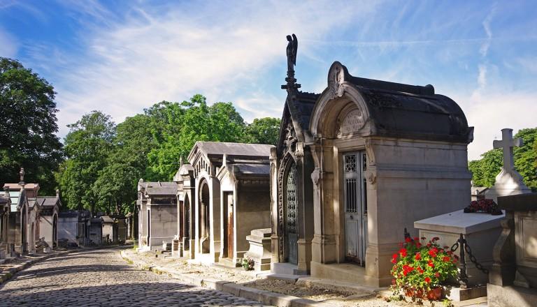 Paris, Le Cimetière du Père-Lachaise