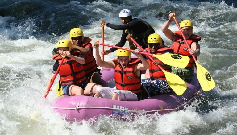 Rafting im Köprülü Kanyon