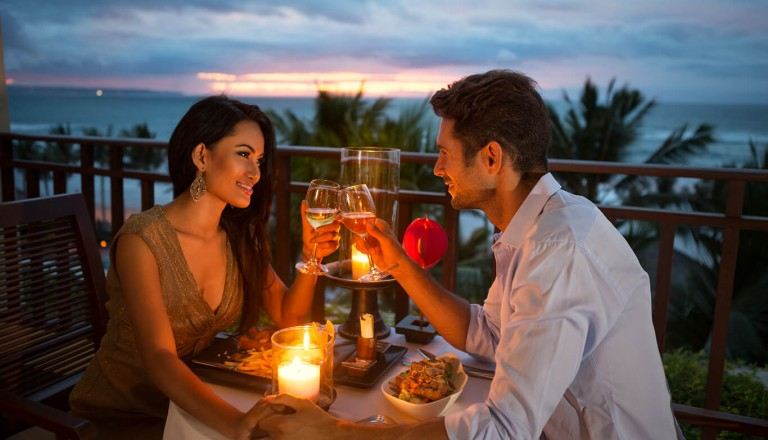 Romantikhotel - Candle-Light-Dinner