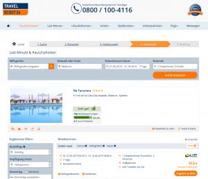 Deal Mallorca Screenshot Hotel Na Taconera