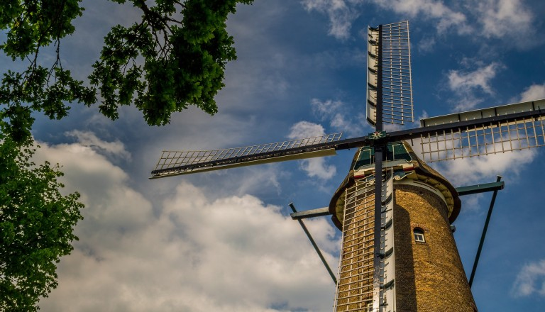 Windmühle Friesland