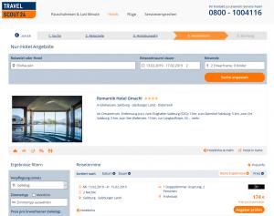 Screenshot Deal Romantik Hotel Gmachl in Österreich