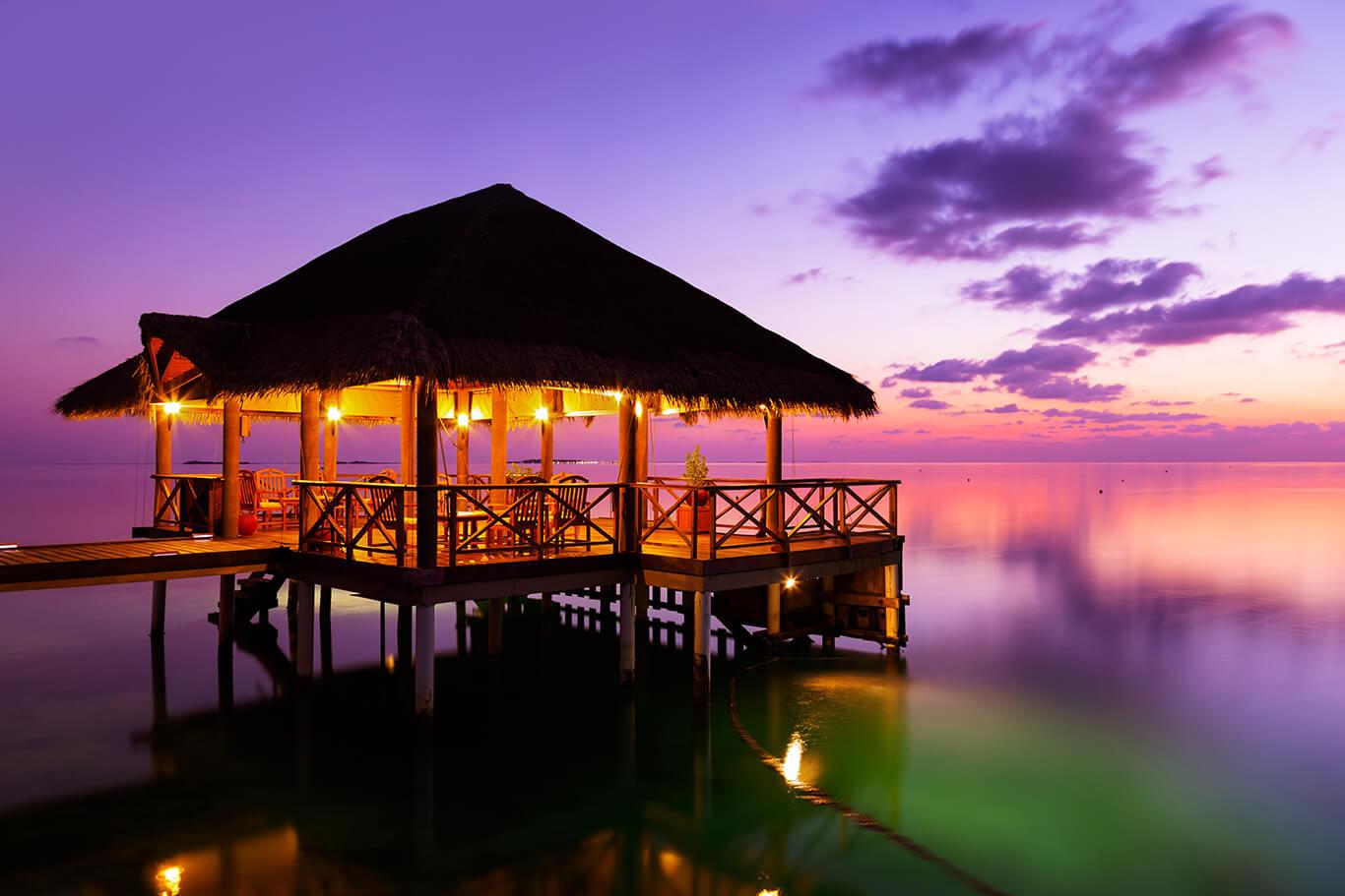 Hochzeit in der Karibik - Nacht
