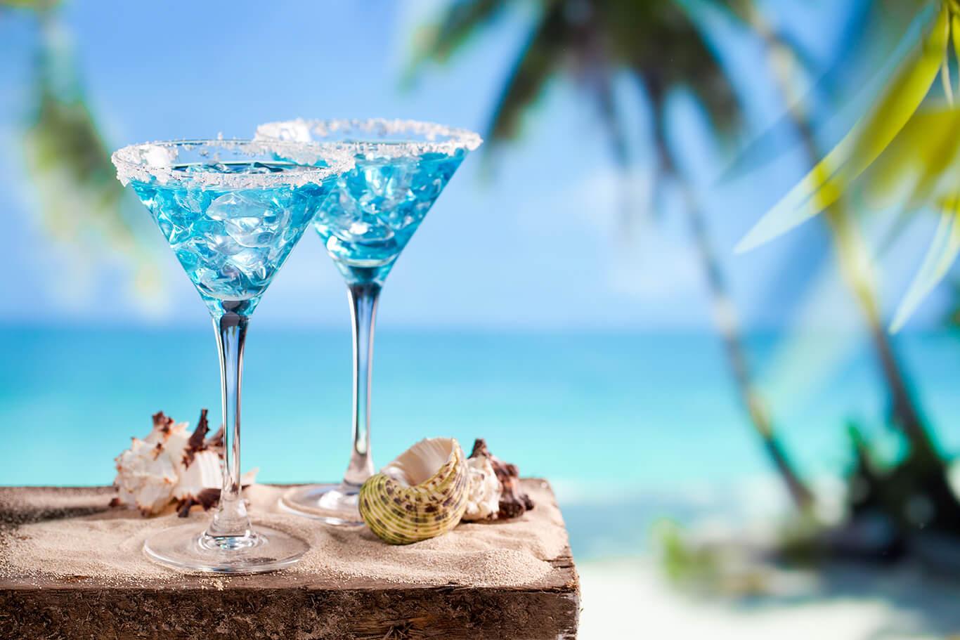 Hochzeitreisen - Curacao Liqueur