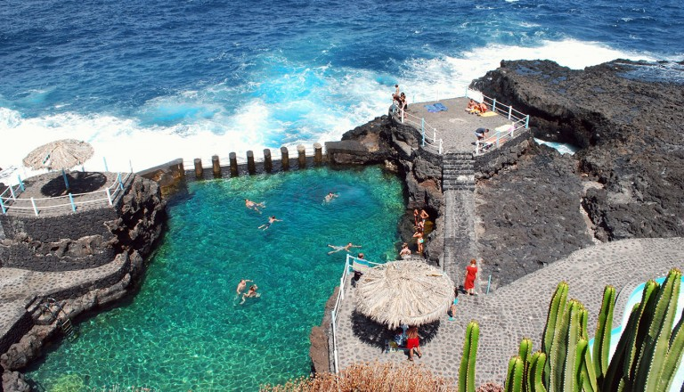 La Palma - San-Andrés-y-Sauces - Charco Azul