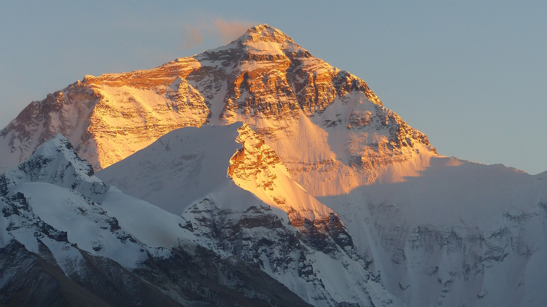 Mount Everest Stau