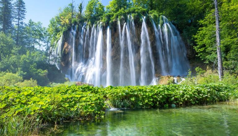 Wasserfälle im Nationalpark Plitvicer Seen