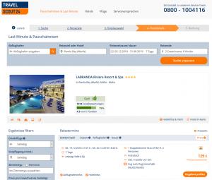 Screenshot Deal Malta LABRANDA