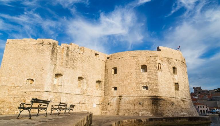 St. Johannes Festung in Dubrovnik